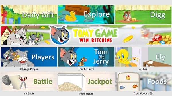 bitcoin games tomygame