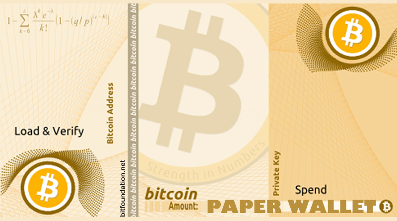 Paper Wallet Tutorial - Step By Step Simple Guide To Make A Paper Wallet