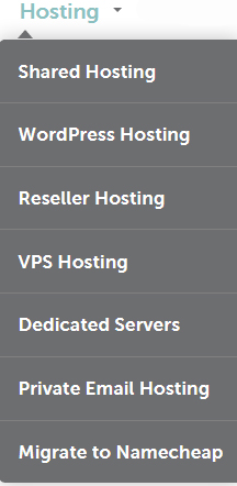 web hosting sites namecheap