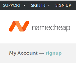 Domain Name Registration namecheap
