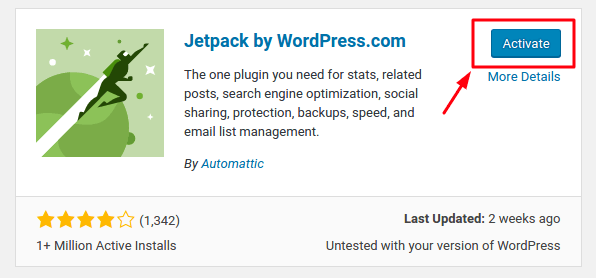jetpack autopost plugin wordpress activate