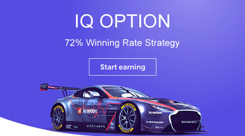 IQoption Strategy 72% Win Rate